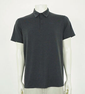 Patagonia Cactusflats Gray Tech Blend Utility Polo Shirt Mens Large