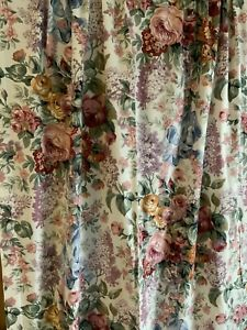 "PRETTY RALPH LAUREN 🌸ALLISON 🌸CURTAIN PANEL 85""LONG"