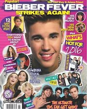 Justin Bieber Fever One Direction 12 GIANT POSTERS Popstar Magazine NEW