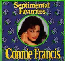 EASY LISTENING LP CONNIE FRANCIS SENTIMENTAL FAVORITES