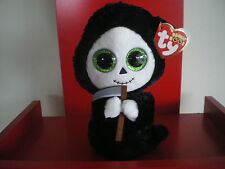 Ty Beanie Boos GRIMM the ghost 6 inch NWMT. HALLOWEEN BOOS - NEW AND N HAND NOW0