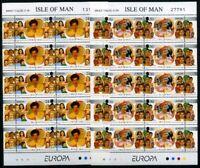 Isle of Man Kleinbögen MiNr. 674-75 postfrisch MNH Cept 1996 (B423