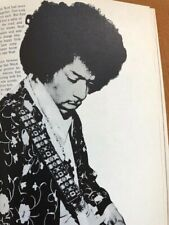 Jimmy Hendrix rare 1970'S photo book