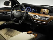 2010-2013 Mercedes-Benz S-Class W221 HDMI Video Interface Add TV DVD Backup Cam