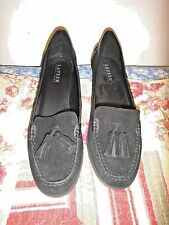 New! Ralph Lauren $130 Black Suede Loafer Flats Women's 9.5 (UK 8 / EU 41)