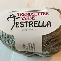 Estrella Trendsetter Yarn Sweater Blanket Trim Scarf Hat Wrap Knit Crochet