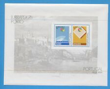 PORTUGAL  - scott 1303a  - VFMNH S/S -  LUBRAPEX Stamp Show - 1976