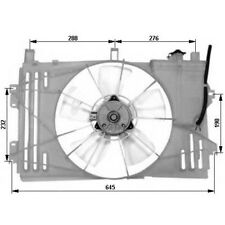 ELECTROVENTILADOR TOYOTA COROLLA 1.4 D - OE: 163610D080 / 163610D090 - NUEVO!!