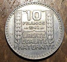 PIECE DE 10 FRANCS 1948 TURIN (112)