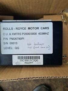 Rolls royce bentley CONTROL MODULE ALARM CONTROL433MHZ (PM26780PI)