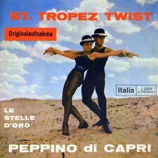 """7"""" PEPPINO DI CAPRI St. Tropez Twist / Le stelle d'oro ITALIA Rock 'n' Roll 1962"""
