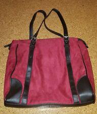 neuwertige Damenhandtasche von TCM , rot/braun