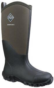 Muck Boot Edgewater II Tall Wellington Boots Green Waterproof Walking Wellies