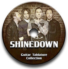Shinedown HARD ROCK CHITARRA schede tablature SONG BOOK CD del software libreria