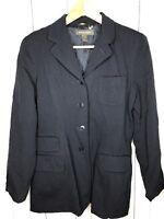 Banana Republic Women's Size 10 Blazer Jacket Navy Blue Lined Career Work Wear