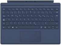 Microsoft Surface Pro 4 Type Cover Keyboard French Canadian Dark Blue QC7-00009