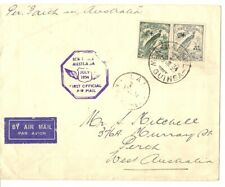 New Guinea 1934 1st Airmail Flight Cover