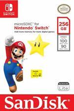 Official Nintendo Switch Micro SD MicroSD SDXC Memory Card 32gb 64gb 128gb 256gb