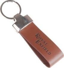 Trendy Loot Royal Enfield Faux Leather Key Chain (Brown)