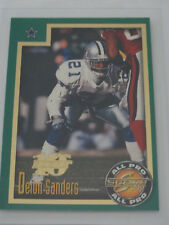 1999 Score 10th Anniversary #268 Deion Sanders Dallas Cowboys Card 1687/1989