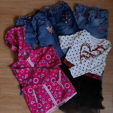 Bekleidungspaket Kind Mädchen 98 104 Jeans Jacke Kleid (Paket 15 - 1908) 03/2020