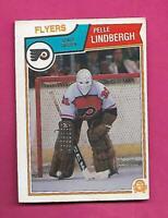 1983-84 OPC # 268 FLYERS PELLE LINDBERGH ROOKIE EX+ CARD (INV# D0349)