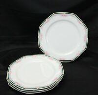 """Christopher Stuart Wellesley Dinner Plates 10.25"""" Lot of 4"""