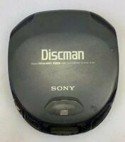 Sony Discman D-151 Mega Bass Portable CD Player Black Tested Works Malaysia