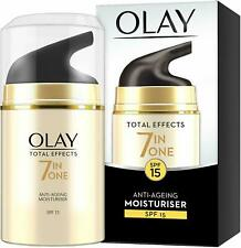 OLAY Total Effects 7-in-1 Anti-Ageing Moisturiser SPF15 * New & Sealed*