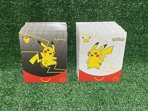 🔥LOT of 20 McDonalds Pokemon Card Packs 2021 Set 25th Anniversary *SEALED*🔥