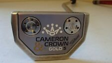 "Scotty Cameron Cameron & Crown GOLO 5 33"" putter Super Stroke!  Priority US Ship"