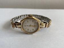 VINTAGE Donna 9ct ORO Tudor Rolex orologio da polso 1950