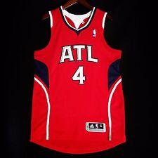 100% Authentic Adidas Paul Milsap Hawks NBA Pro Cut Jersey Size XL L mesh #