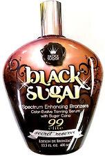 Black Sugar Secret Reserve Bronzer Indoor Tanning Lotion by Brown Sugar Tan Inc