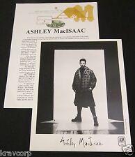 ASHLEY MACISAAC 'HI HOW ARE YOU TODAY' 1996 PRESS KIT--PHOTO