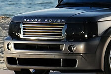 06-09 Range Rover Sport GTS Smoke Acrylic Headlight Covers Protection GT0140S