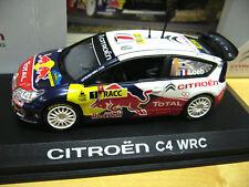 CITROEN C4 WRC Rallye Spain 2009 Loeb R Bull Norev S-Preis 1:43