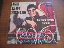CLIFF RICHARD EUROVISION 1968 congratulations ISRAEL ISRAELI EP