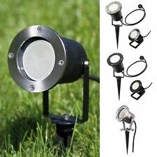 10er Set LED Lampada Esterno Lampada vie pavimento Faretti da incasso ip67 gu10-230v circa