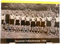Borussia Dortmund + Deutscher Fußball Meister 1956 + Fan Big Card Edition F81 +