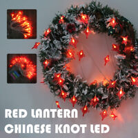 50/80LED guirlande lumineuse nouvel an chinois Prop LED  chinois lanterne lampe