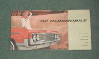 1962 Oldsmobile Automotive Brochure Car Pamphlet 98 Super 88 F-85 Dynamic 88 +