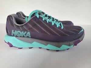 Hoka One One Torrent 1097755 NISG  Purple/Gray/ Green Women's Running Shoes