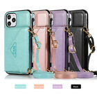 For Samsung Galaxy A12 5G ELEGANT Wallet Case ID Money Card Holder with Lanyard
