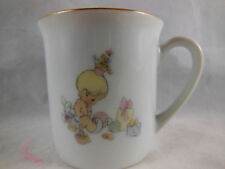 Precious Moments Baby Cup Enesco 1985 Vintage Samuel Butcher Made in Japan