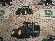 John Deere baby toddler sheets set tractors flannel
