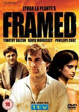 FRAMED  Lynda Le Plante. David Morrissey, Timothy Dalton. New sealed DVD.