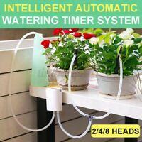 Garten Automatisch Bewässerung Gerät Pflanze Tropfen Wasserpumpe Timer System