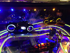 STERN TRON pinball - Illuminated Light cycles set mod, fits LE / PRO