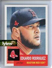 2020 Topps Living Set * EDUARDO RODRIGUEZ * Card #299 * Boston Red Sox
